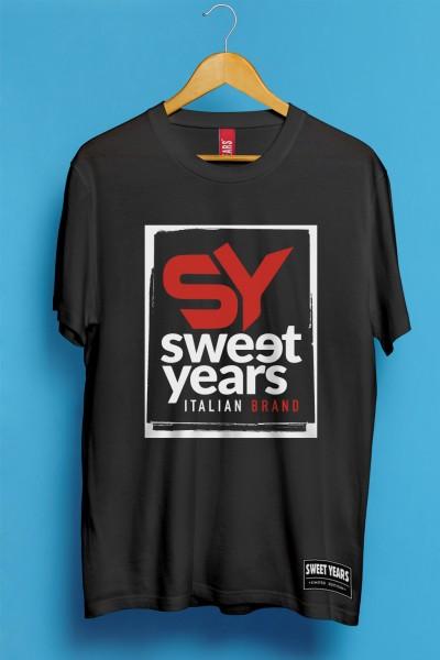 T-shirt Sweet Years nuovo logo urban style.