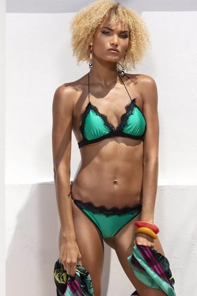 Bikini a triangolo Sweet Years della collezione estate 2020 di colore verde.