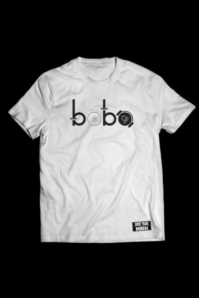 T-shirt in cotone della collezione Bobo Collection Sweet Years con stampa centrale Bobo.